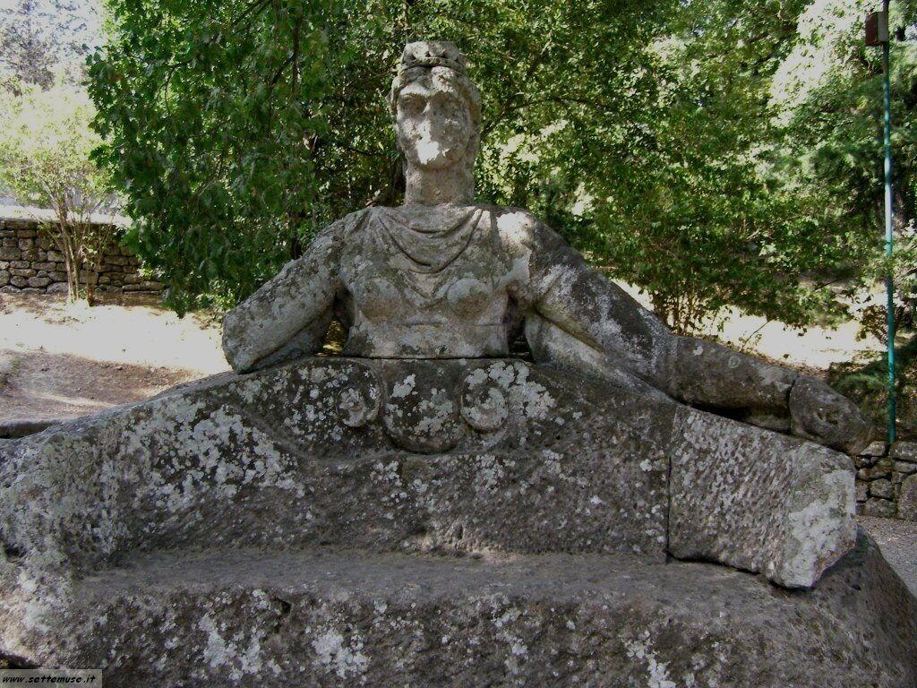 Bomarzo giardino delle statue foto 61