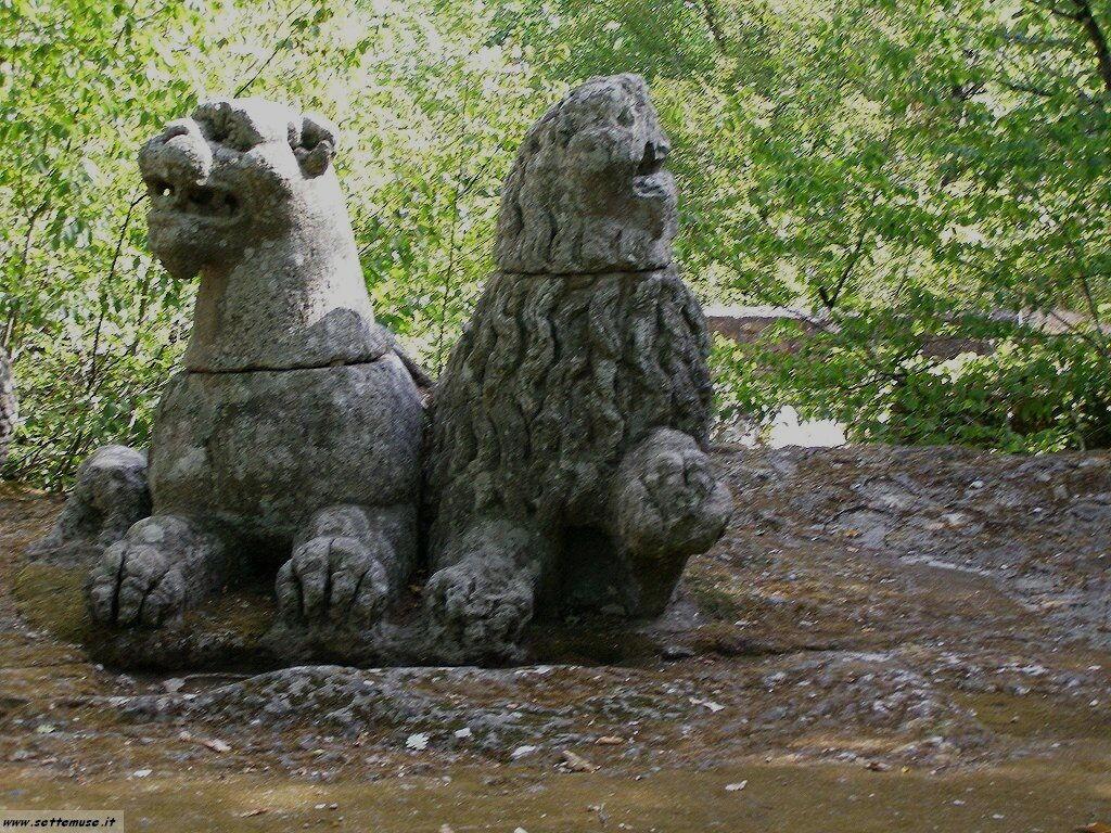 Bomarzo giardino delle statue foto 64