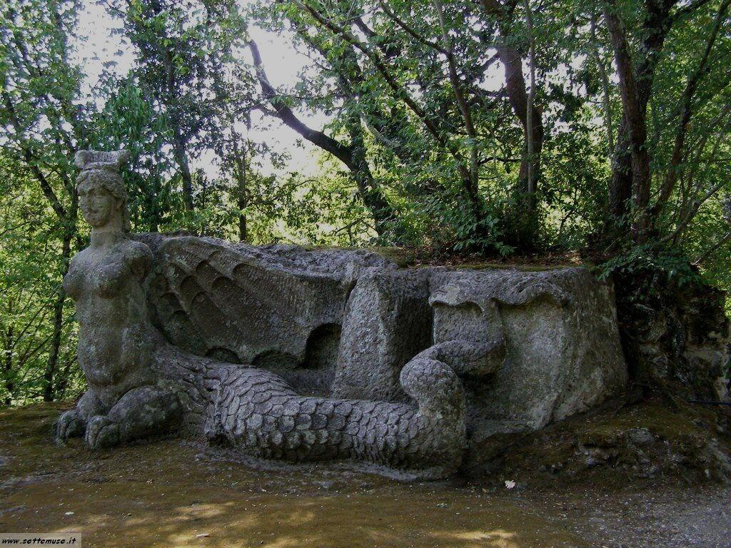 Bomarzo giardino delle statue foto 66