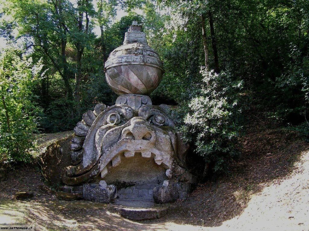 Bomarzo giardino delle statue foto 70