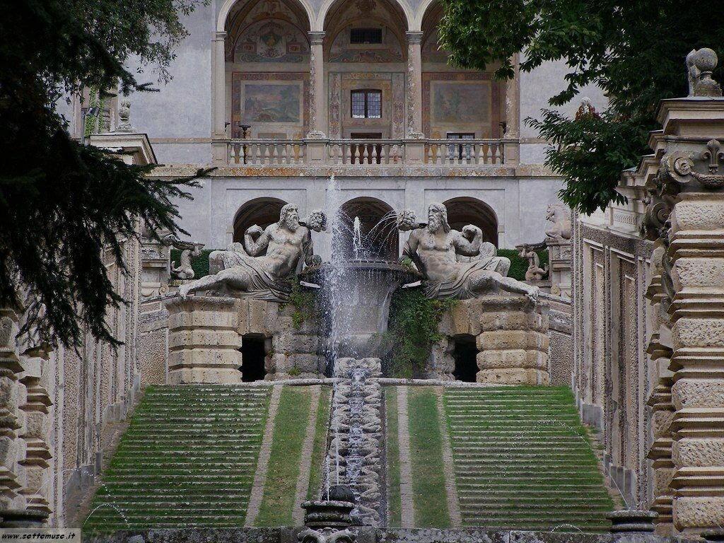 Caprarola palazzo farnese foto 31