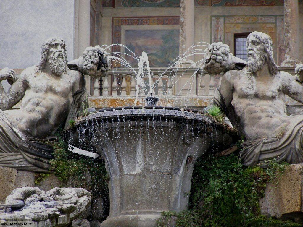 Caprarola palazzo farnese foto 35