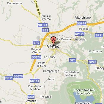 Cartina Geografica Di Viterbo E Provincia.Viterbo Localita E Musei Guida E Foto