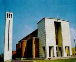 Sabaudia - Chiesa dell'Annunziata