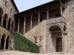 Bracciano - Interno Castello Orsini