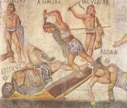 Roma Combattimento fra Gladiatori