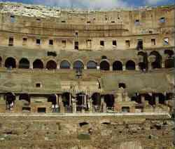 Roma Interno del Colosseo