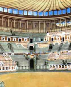 Roma - Ricostruzione interno Colosseo