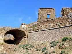 Civita Bagnoregio - accesso al borgo