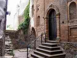 Faleria - Un angolo del centro storico
