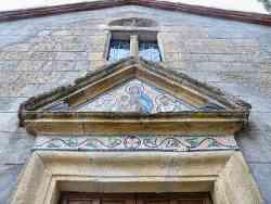 Grotte di Castro - Facciata  S.Maria delle Colonne