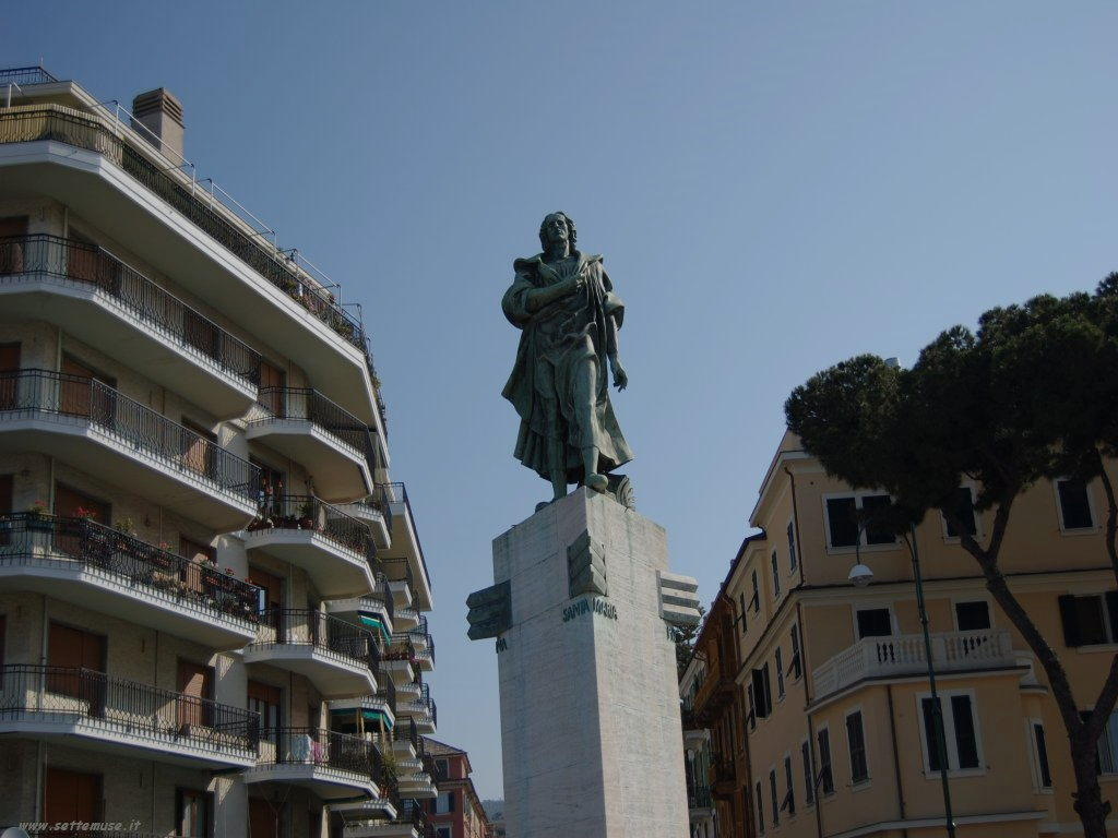 Foto Chiavari statua Cristoforo Colombo 183