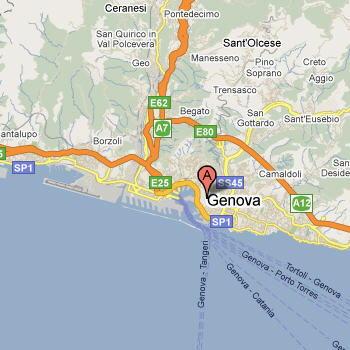 Mappa di Genova: come arrivare