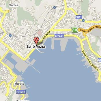 Mappa di La Spezia