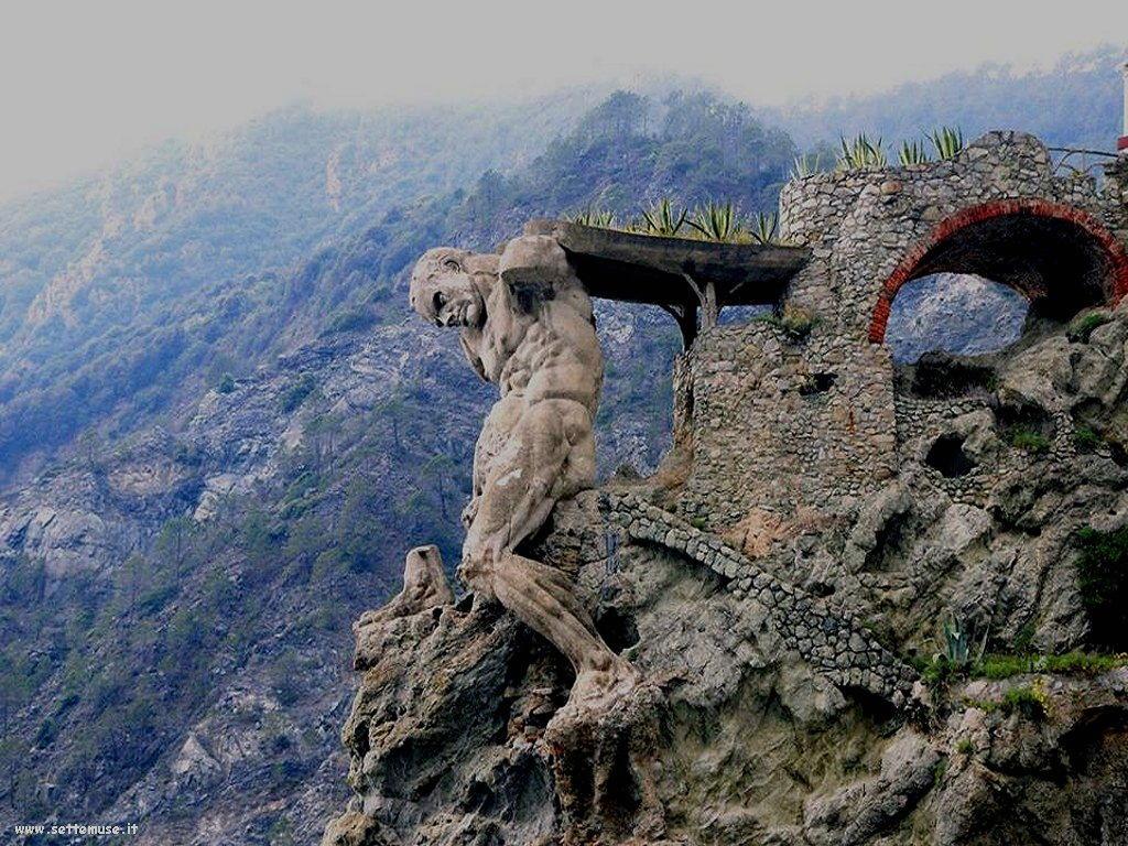 statuta del gigante di Monterosso