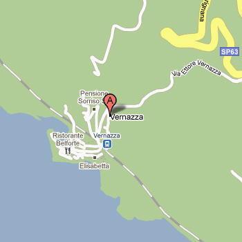 Mappa di Vernazza