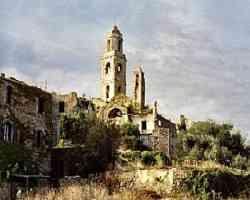 Bussana Vecchia - La chiesa