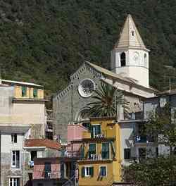 Corniglia - Chiesa di San Pietro