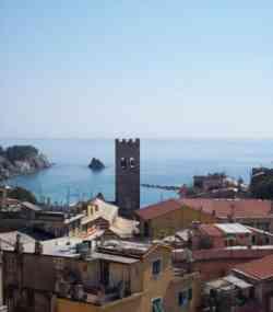 Foto panoramica con la Torre Aurora