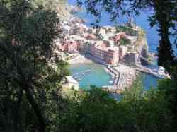 Fotografia panoramica su Vernazza