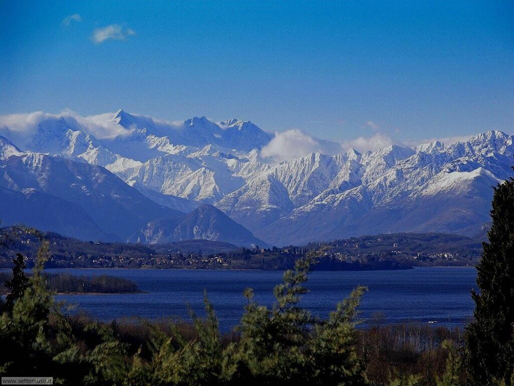 lago di varese e massiccio del monte rosa
