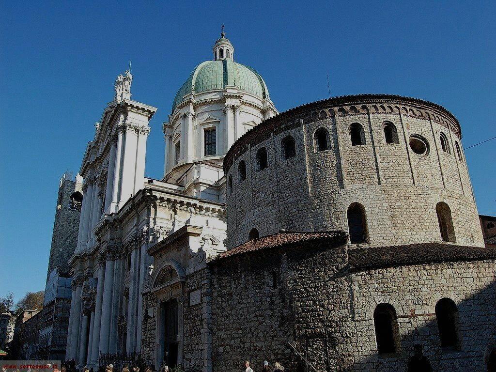 Brescia Duomo Nuove  e Rotonda