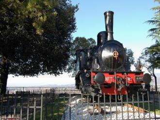 Brescia  -Monumento alla locomotiva