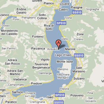 Cartina Lombardia Laghi.Lago D Iseo Brescia Guida E Foto 1