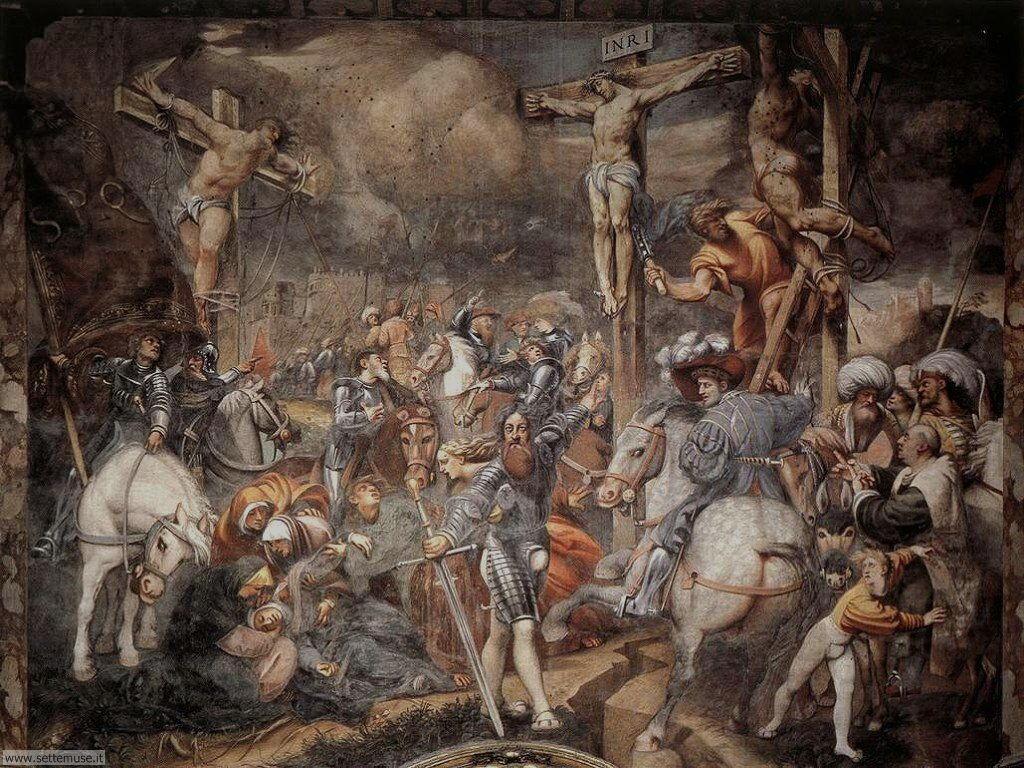 cremona affresco del pordenone cattedrale