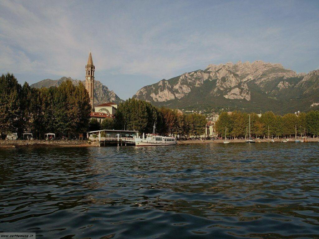 Lecco citta e lago foto