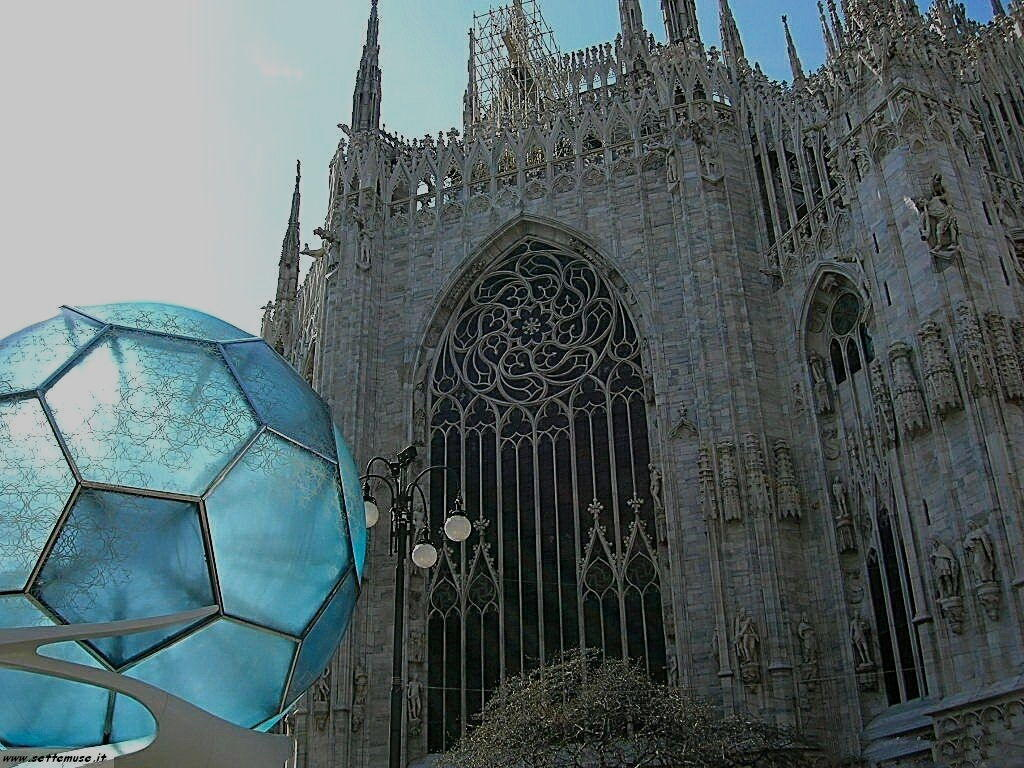 Milano citta duomo foto
