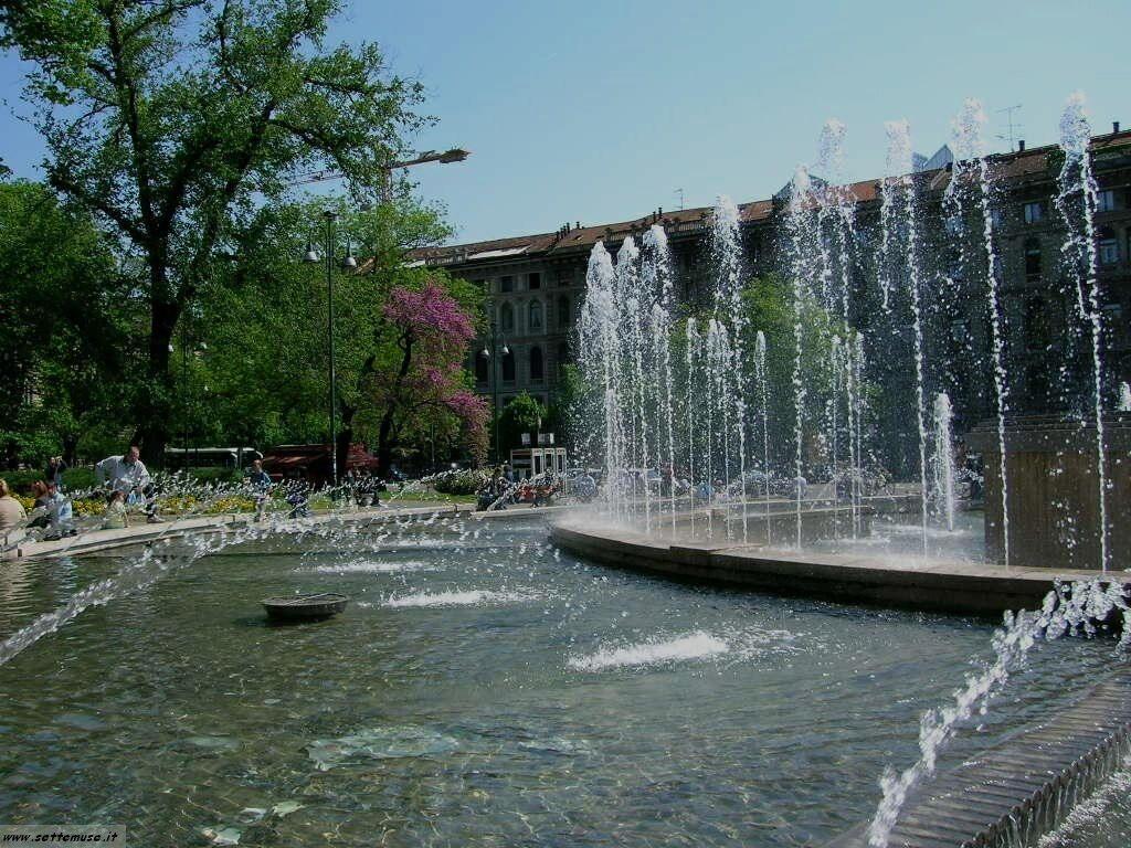 Milano citta giardini pubblici foto