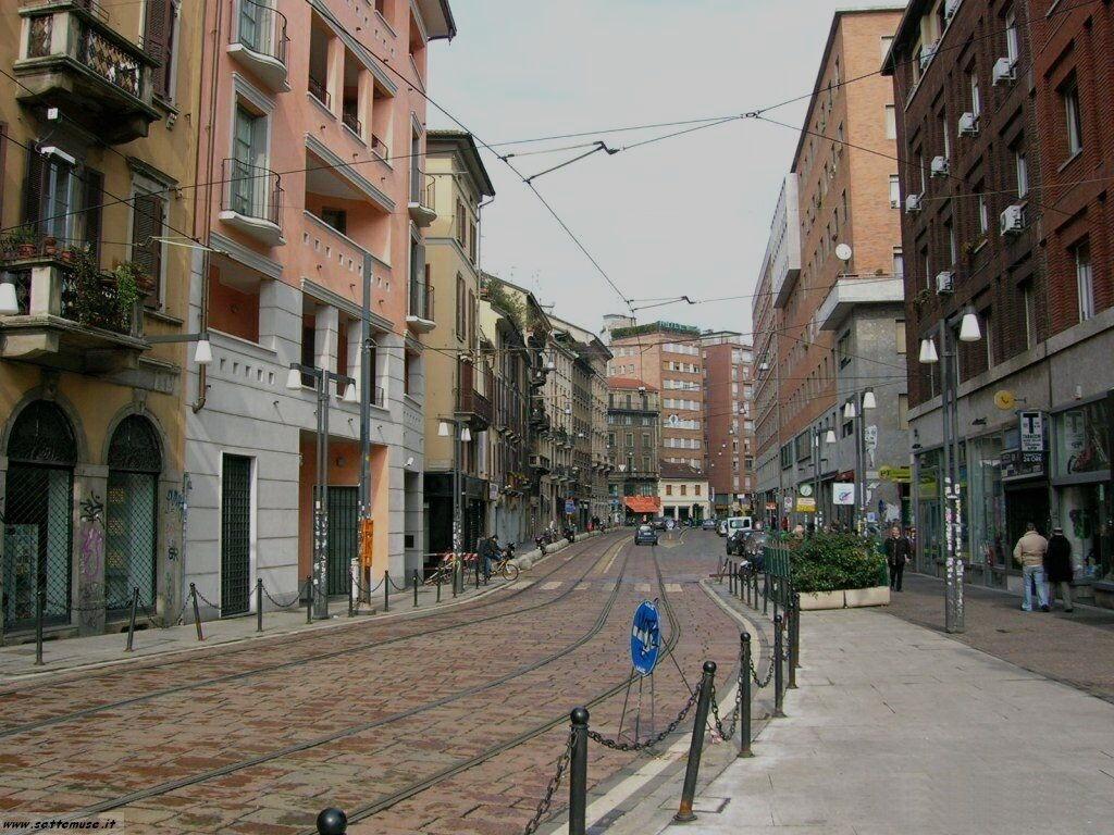Milano citta le vie del centro foto