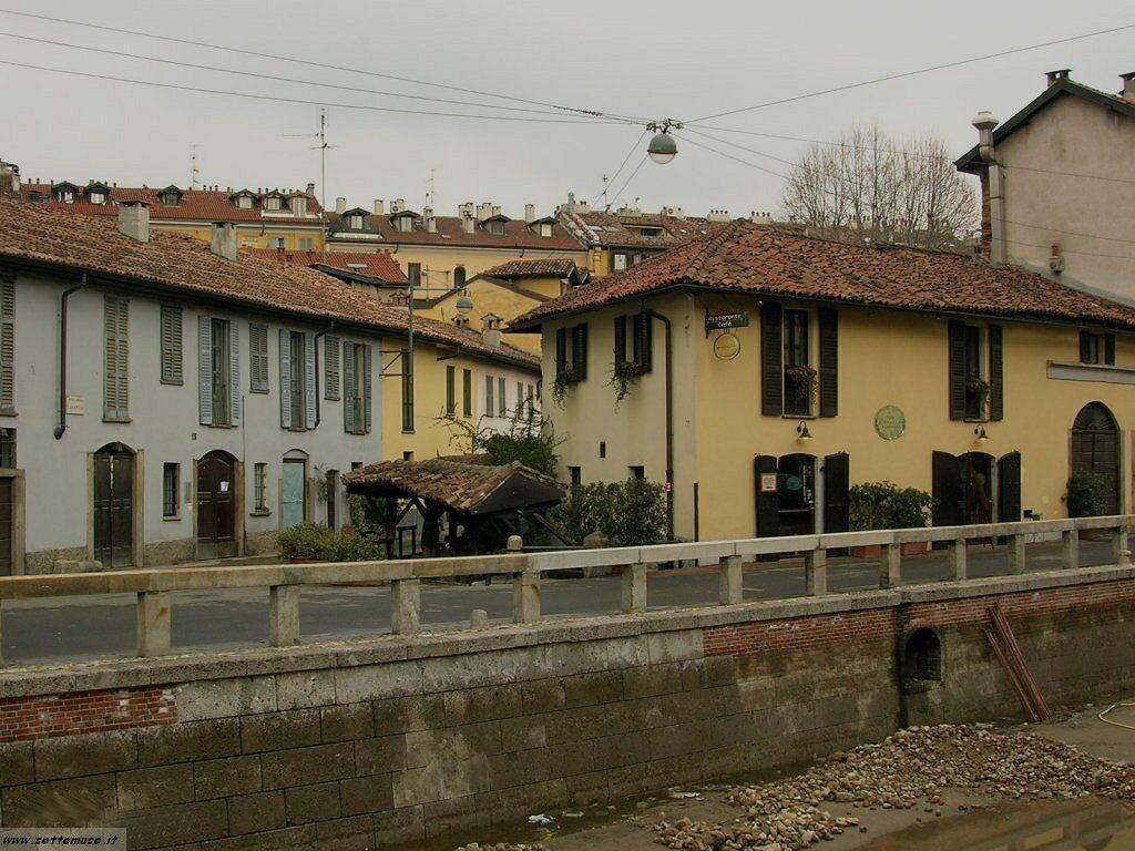 Milano citta navigli foto