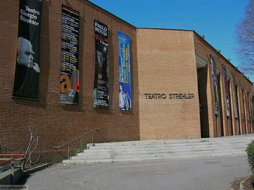 Milano citta teatro strehler foto
