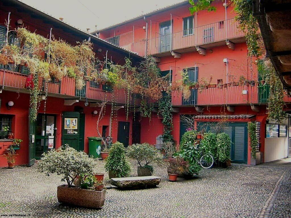 Milano vecchia citta foto