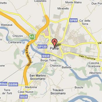 Pavia Cartina.Pavia Localita E Musei Guida E Foto Settemuse It
