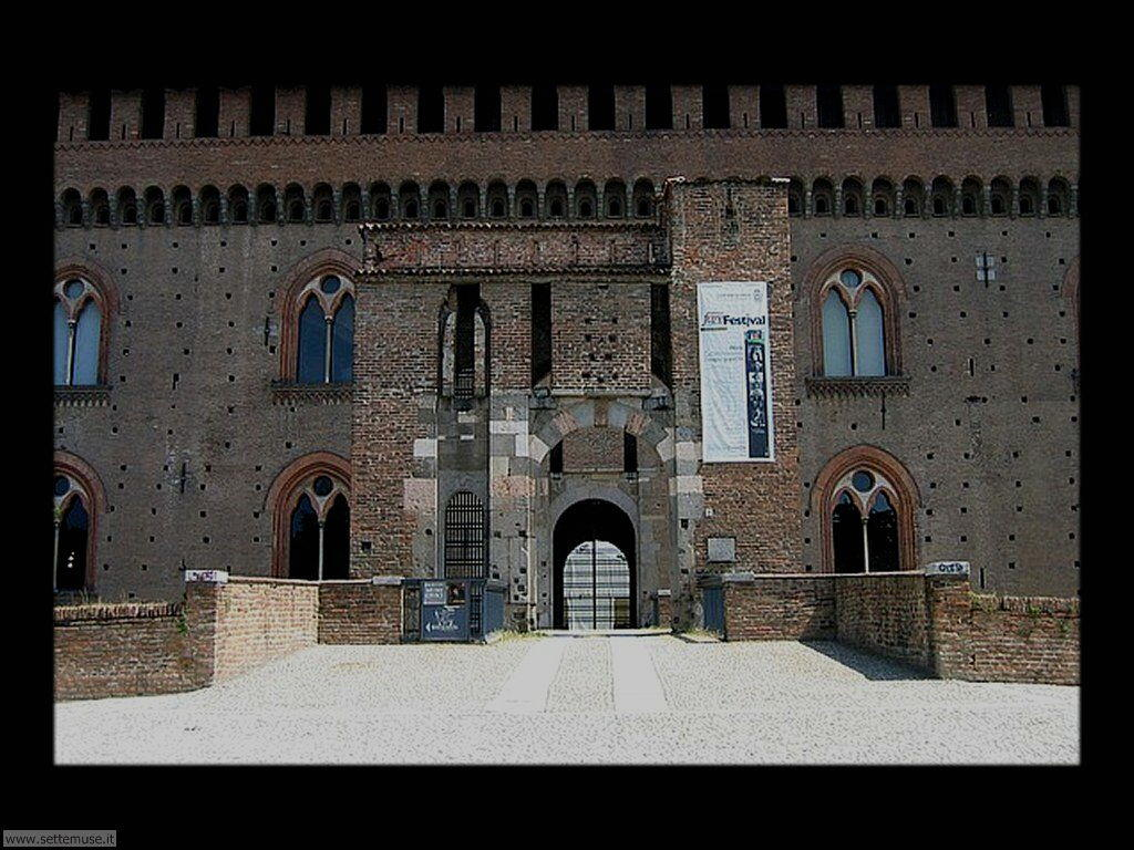 Pavia Castello Visconteo ingresso