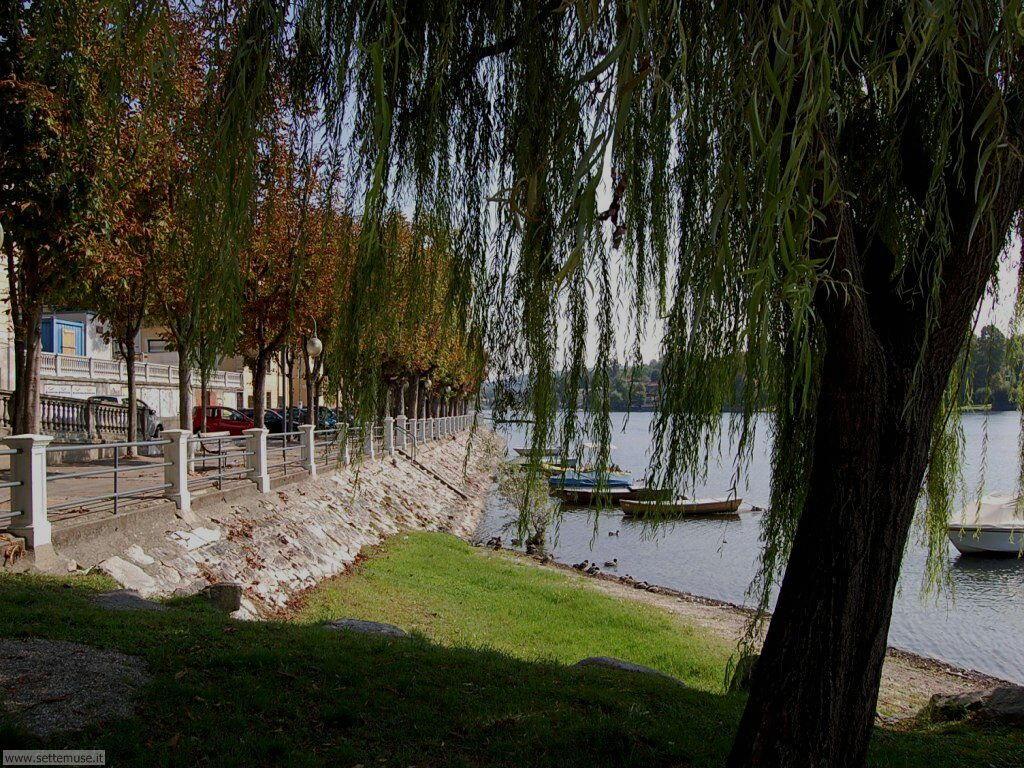 Sesto Calende lago maggiore foto