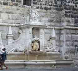 Brescia - La Fontana della Pallata