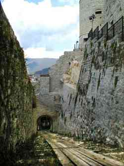 Brescia - Strada di soccorso del Castello