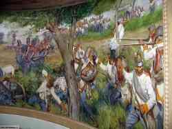 Uno dei dipinti all'interno della Torre