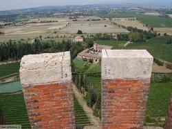 Panorama dalla Torre di San Martino