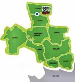 foto  Mappa delle Groane