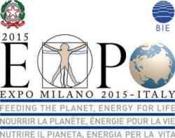 Milano Expo 2015 logo: Nutrire il Pianeta