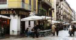 Milano: zona di Via Brera