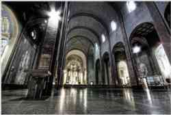 Milano, Chiesa di Santa Rita: interno