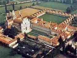 Pavia - Panoramica sulla Certosa