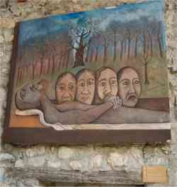 Arcumeggia- Foto di un originale Deposizione