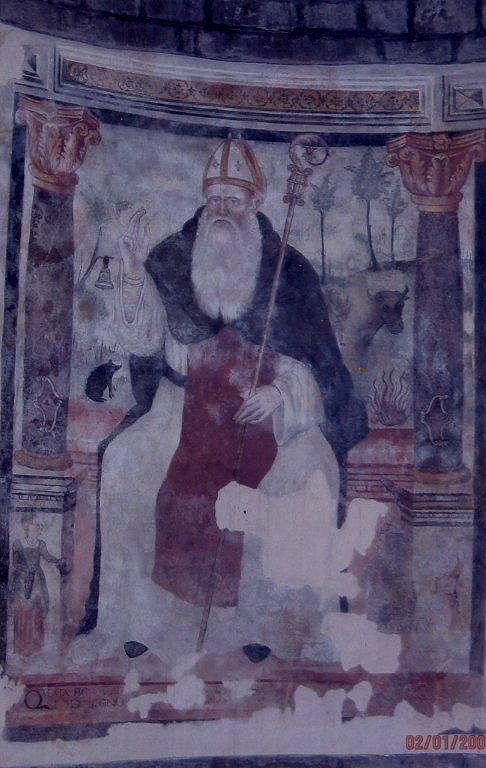 Affresco interno Santa Maria